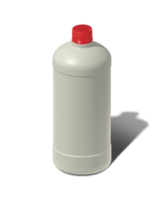Бутылка пластиковая 0,9 л
