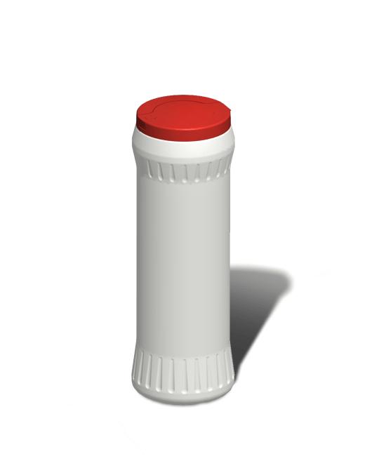 Банка пластиковая для сыпучих продуктов 500 мл