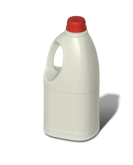 Бутылка пластиковая с ручкой 2 л