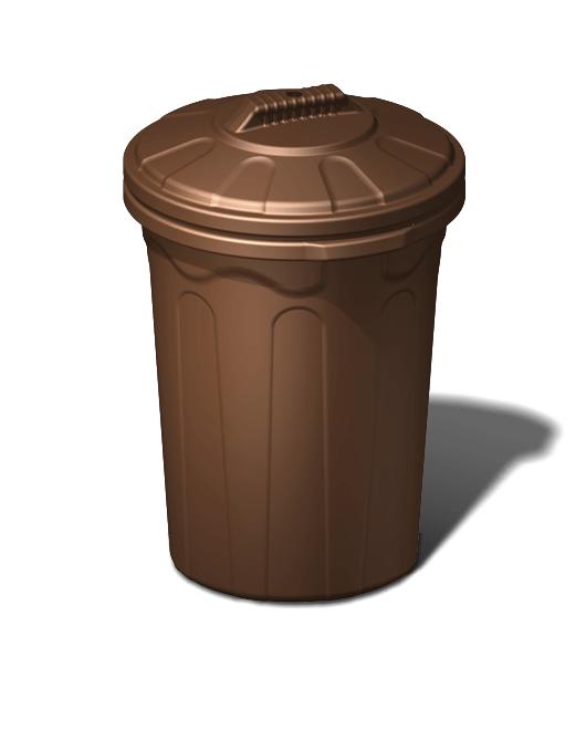 Бак пластиковый хозяйственный с крышкой 100 литров