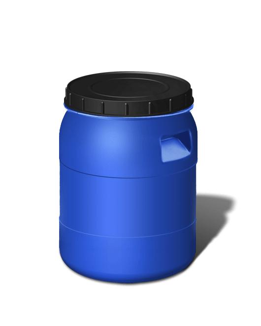 Бочка пластиковая с крышкой 40 литров