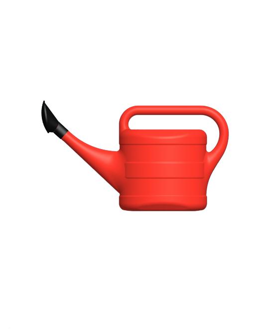 Лейка садовая пластиковая с рассеивателем 10 литров