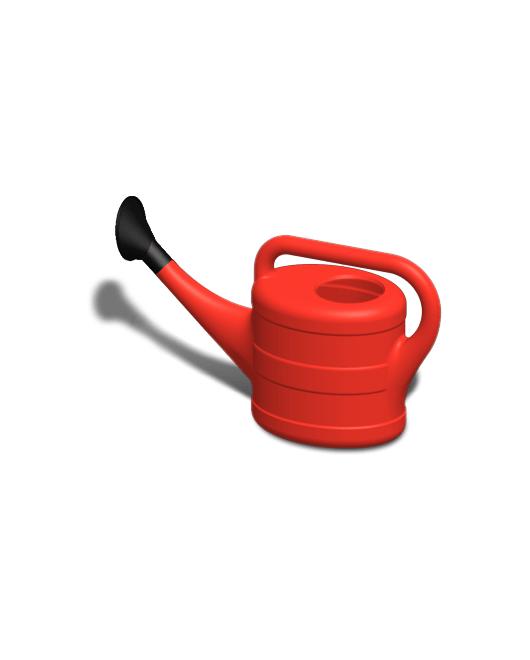 Лейка садовая пластиковая с рассеивателем 8 литров