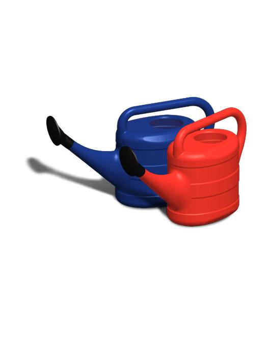 Лейки садовые пластиковые с рассеивателями 10 литров