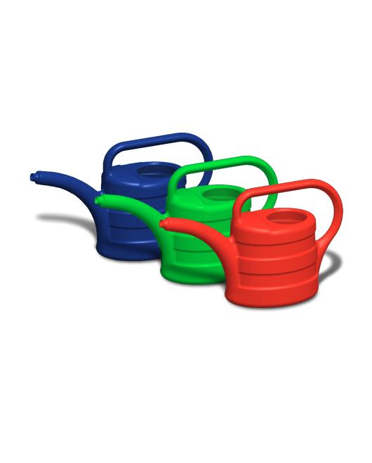 Лейка садовая пластиковая с рассеивателем 5 литров