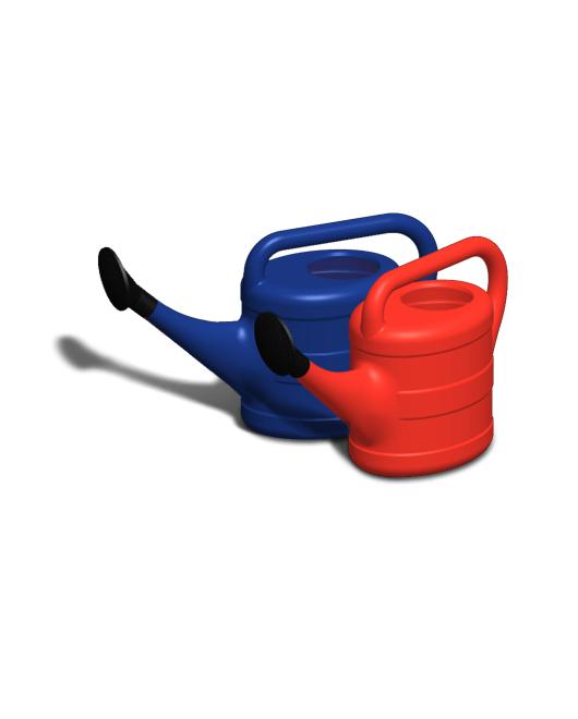 Лейки садовые пластиковые с рассеивателями 8 литров