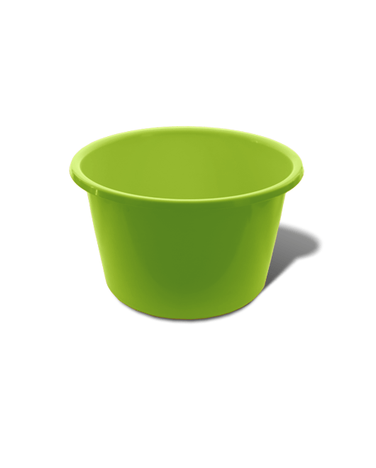 Таз пластиковый пищевой круглый 25 литров