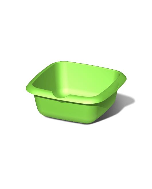 Таз пластиковый пищевой квадратный 9 литров