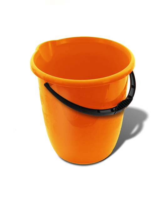 Ведро пластиковое пищевое 11 литров