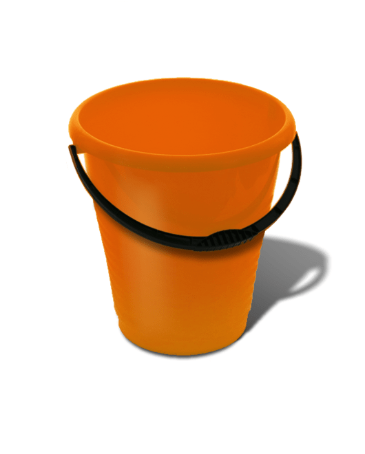 Ведро пластиковое пищевое 10 литров