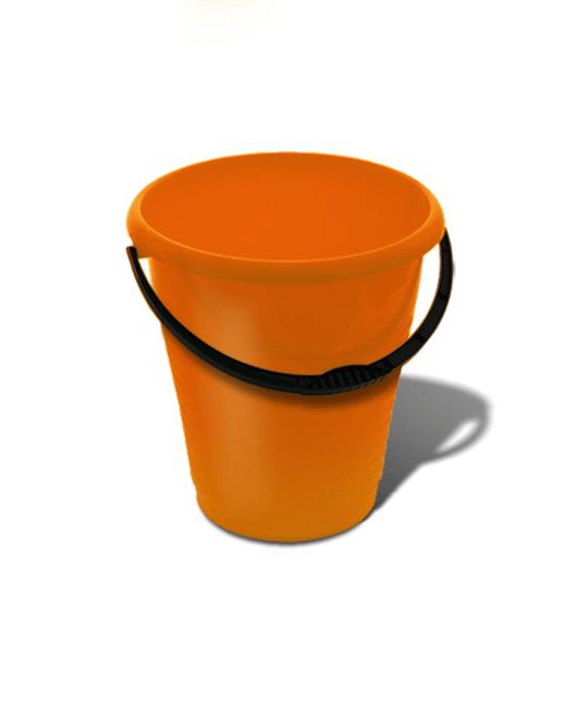 Ведро пластиковое пищевое 7 литров