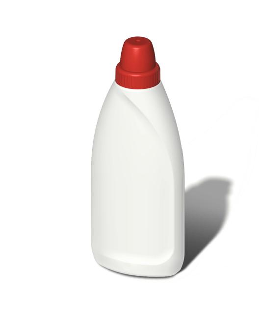 Бутылка пластиковая 500 мл с мерным колпачком