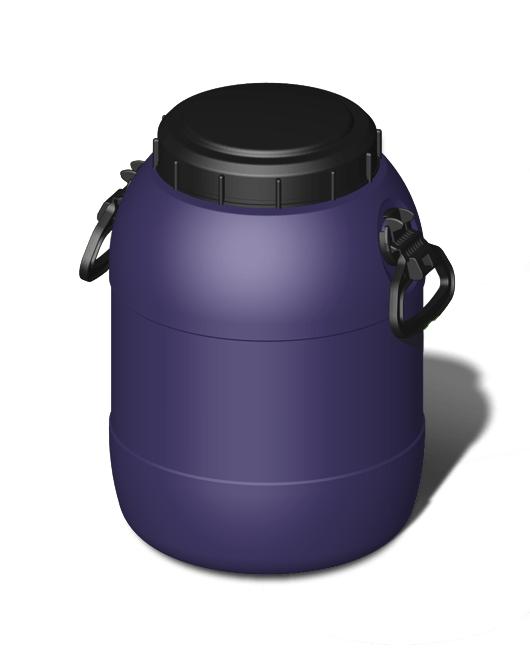 Фляга пластиковая с ручками с крышкой круглая 20 литров